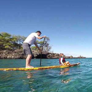 Kohala Coast Stand Up Paddle Lesson