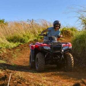 ATV in the Mountains of Hawaii