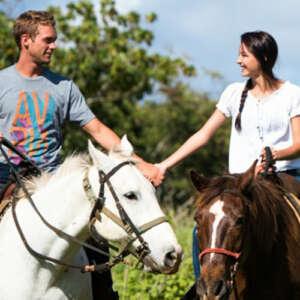 Sweet Heart Horseback Ride