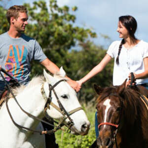 Sweet Heart Horseback Ride