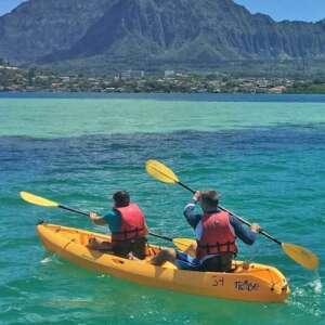 Kaneohe Bay Sandbar Kayak Rentals
