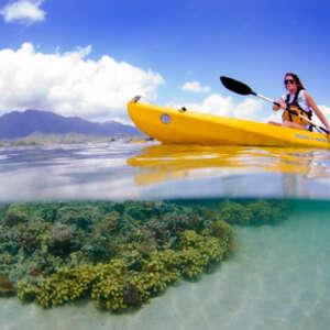 Kaneohe Bay Kayak and Snorkel Tour