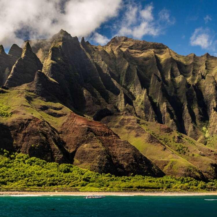 Napal kauai background