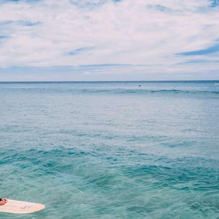 Hawaii surfer girl