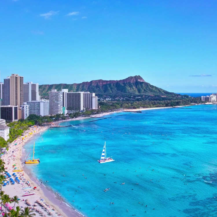Waikiki beach honolulu hawaii vacation best hotel condo accommodation marina hawaii