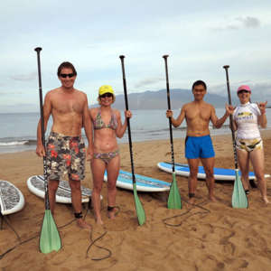 Wailea Paddle Board Snorkel Tour