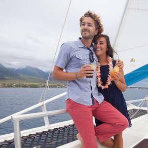 Sunset Cocktail Catamaran