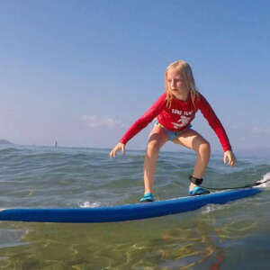 Kids Surf Lessons in Kihei