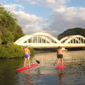Private Haleiwa Paddle Boarding Lesson