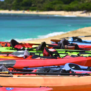 Self-Guided Kayak & Snorkeling on Offshore Islands