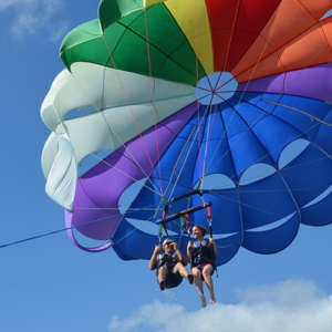 Parasail High Above Waikiki